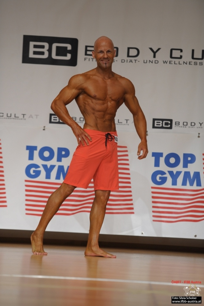 András Nemeth Sieger Masters Physique ÖNM 2015