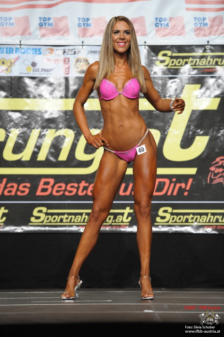 Jennifer Gold 2. Platz Juniorinnen Bikini Fitness ÖNM 2016