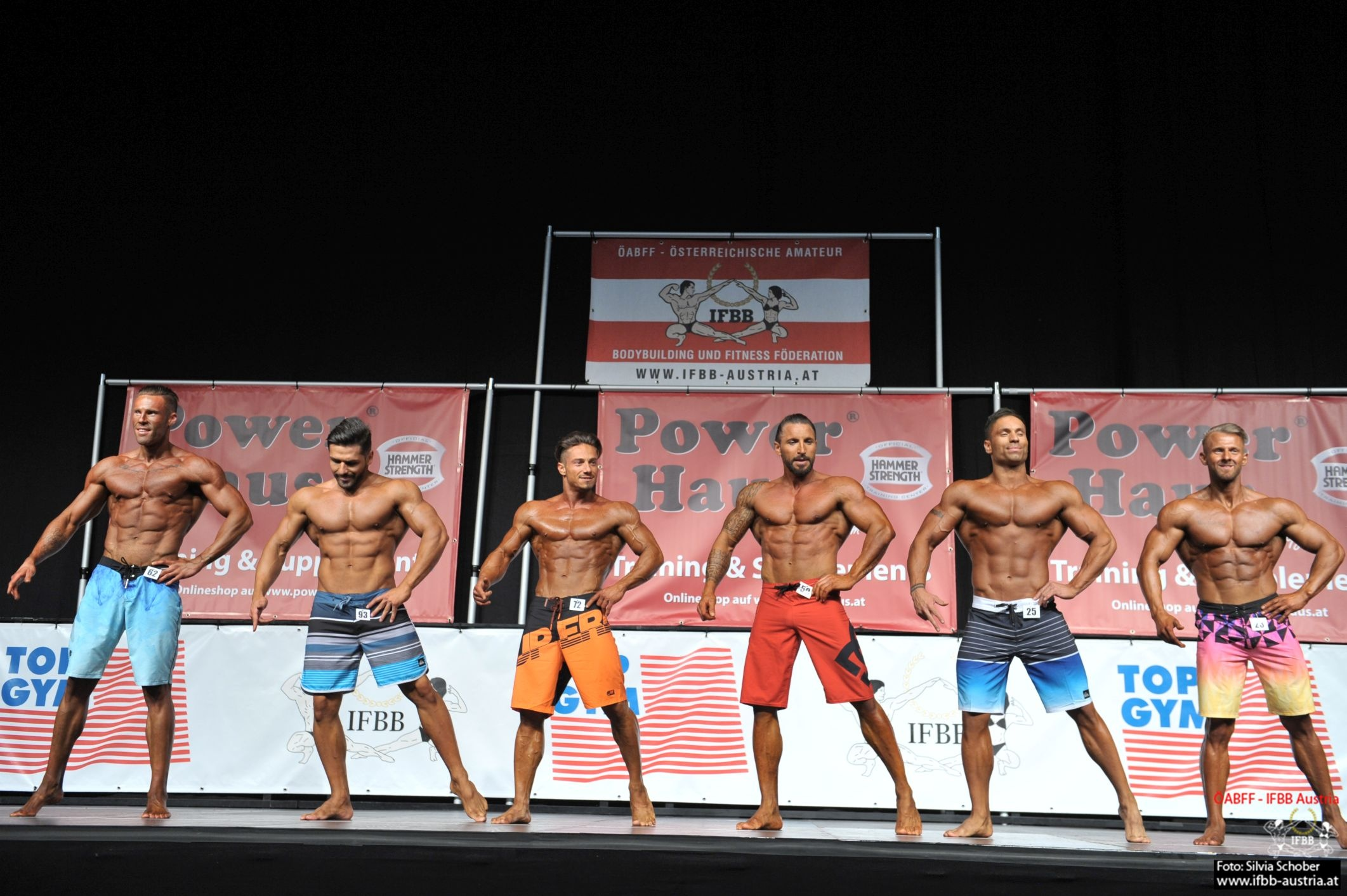 Muscular Mens Physique IÖM 2019