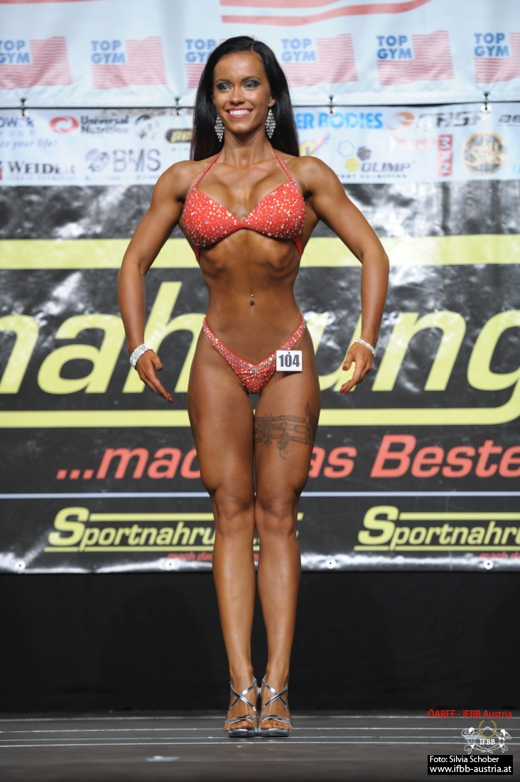 Simona Kastl Juniorinnen Bodyfitness