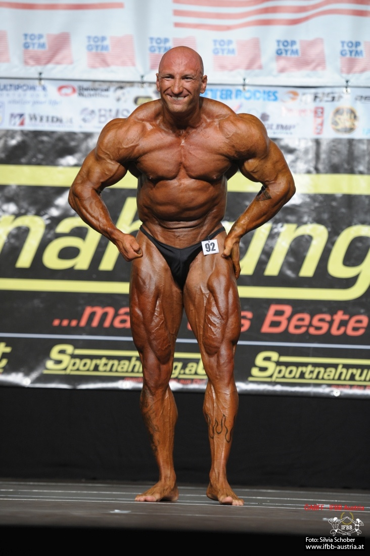 David Müllner Bodybuilding bis 100 kg EVLS 2016