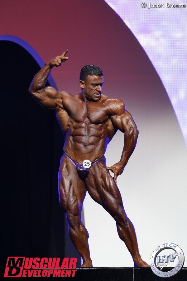 Bodybuilding Olympia: Kamal Elgargni