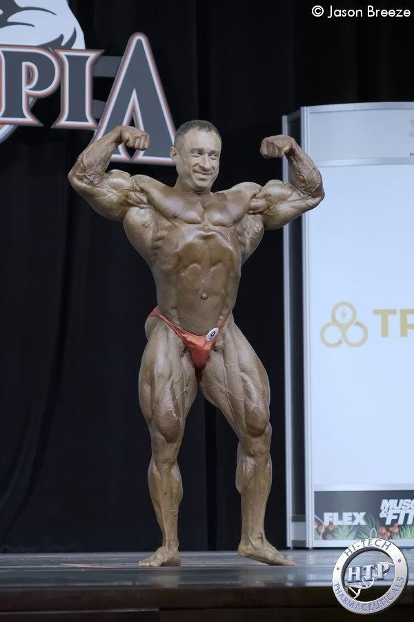 Europas Profis beim Mr Olympia 20: Oleh Kryvyi, Ukraine