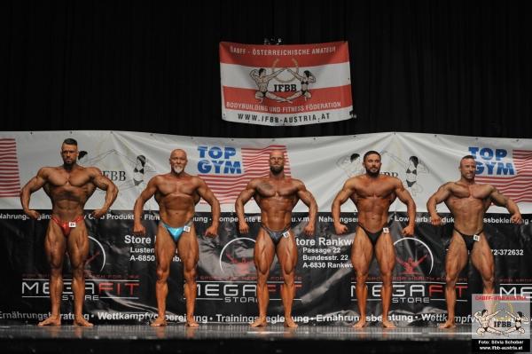 Austria Cup 2019 - Bodybuilding Männer bis 95 kg und über 95 kg