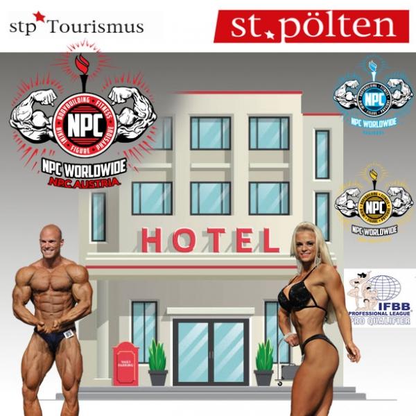 Hotels für die NPC Shows 18., 19. September 2021 in St. Pölten