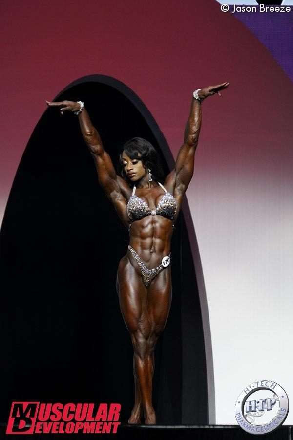 Women´s Physique Olympia: Shanique Grant