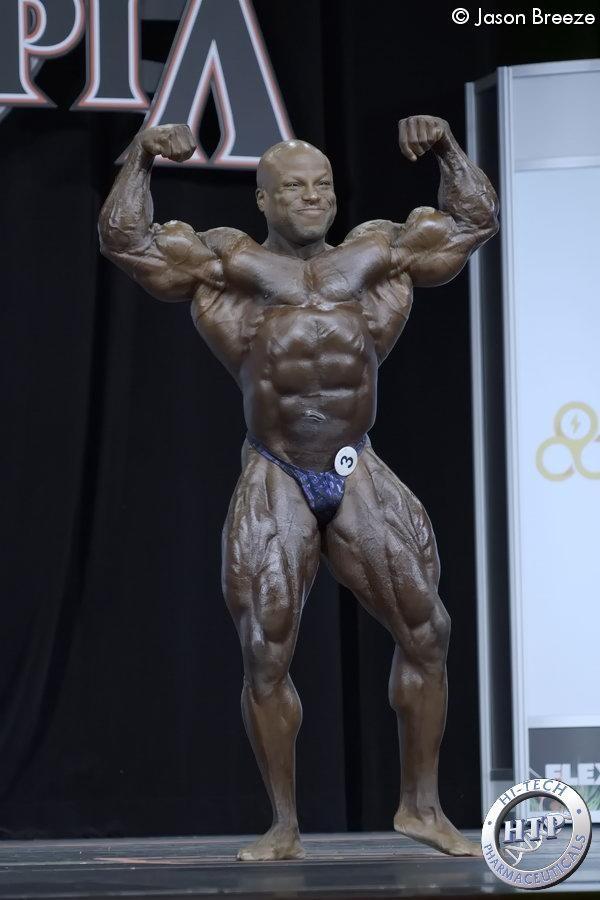 Die Ergebnisse des ersten Tages des aktuellen Mr Olympia 2020 Wochenendes in Orlando Florida: