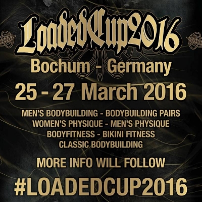 Loaded Cup in Bochum (D, 26. bis 27. März)