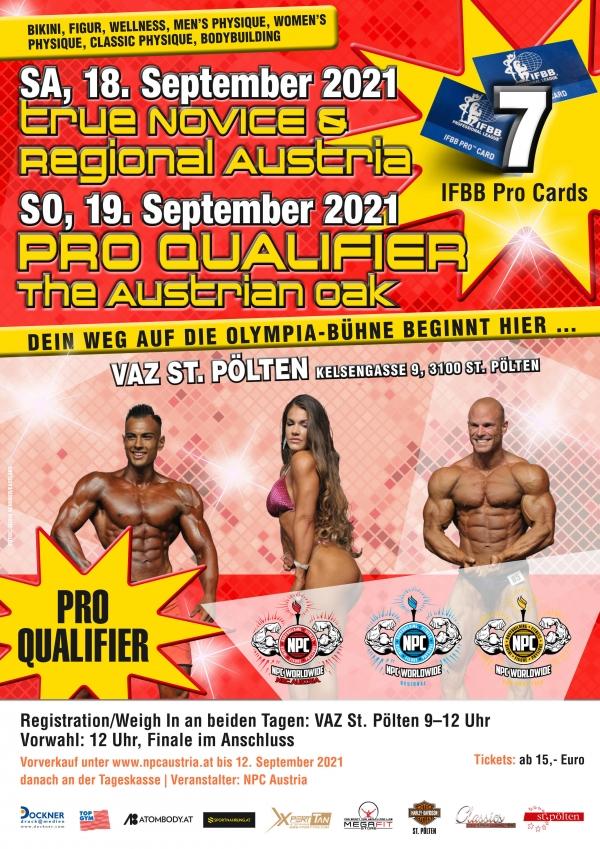 "Pro Qualifier ""The Austrian Oak"" - Ergebnisse"