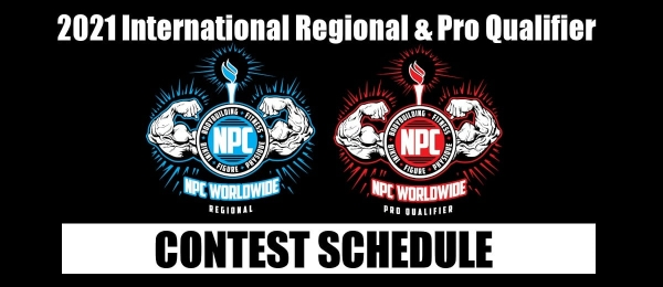 2021 International Regional & Pro Qualifier Contest Schedule | IFBB PRO