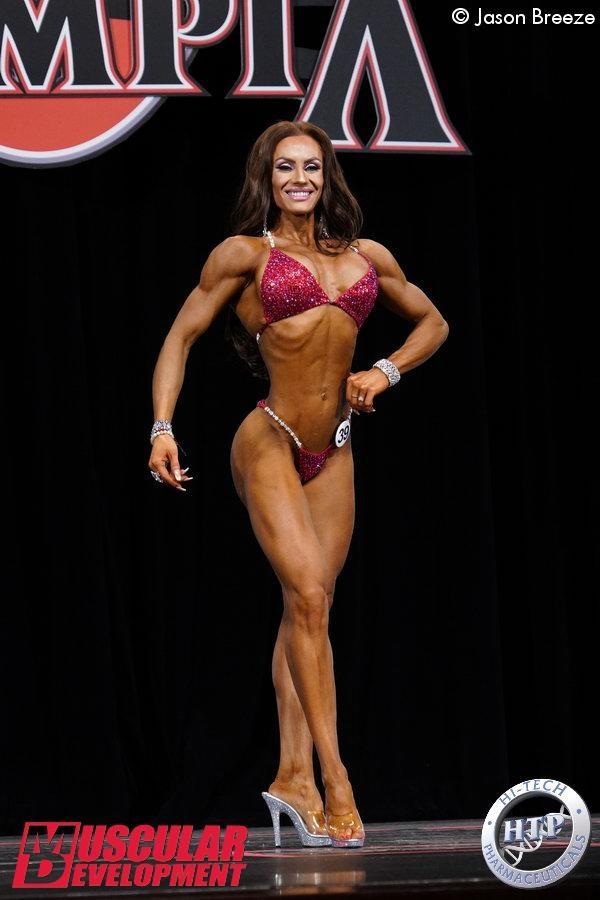 Europas Profis beim Mr Olympia 20: Cristobalina Pajares Torres, Spanien